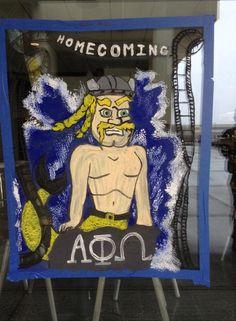 Alpha Gamma Phi - Northern Kentucky University Homecoming Banner 2014