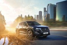 Hyundai Tucson on Behance