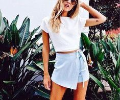 52 Comfy Street Style Outfits To Add To Your Wardrobe - Fashion Owner Casual Skirts, Casual Outfits, Cute Outfits, Spring Summer Fashion, Spring Outfits, Summer Ootd, Spring Wear, Spring Style, Winter Style