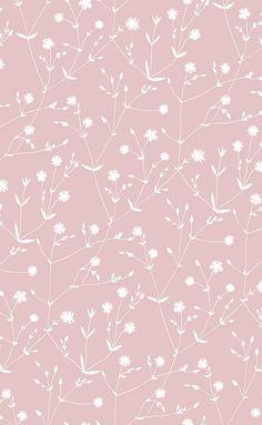Illalla Pink wallpaper by Marimekko