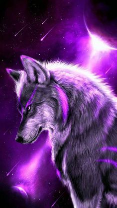 Wolf Images, Wolf Photos, Wolf Pictures, Artwork Lobo, Wolf Artwork, Cute Fantasy Creatures, Mythical Creatures Art, Cute Animal Drawings Kawaii, Cute Cartoon Animals