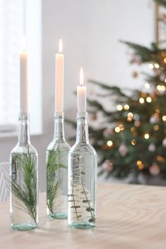Simpele kerst DIY - Apocalypse Now And Then Minimal Christmas, Simple Christmas, All Things Christmas, Christmas Home, Christmas Holidays, Christmas Crafts, Christmas Decorations For The Home, Christmas Centerpieces, Diy Crafts To Do