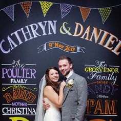 Cathryn and Daniel had a rustic Autumnal wedding full of bright colors and love.