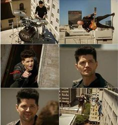 The Script - Pics of Man on a Wire video (No Sound Without Silence album) Kaiser Chiefs, Danny O'donoghue, The Script, Soundtrack To My Life, Guy Pictures, Best Songs, Celebrity Crush, Song Lyrics, Cool Bands
