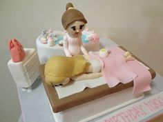 Massage Cake!