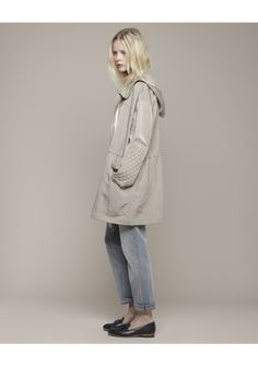 Girl by Band of Outsiders / Quilt Patch Anorak | La Garçonne