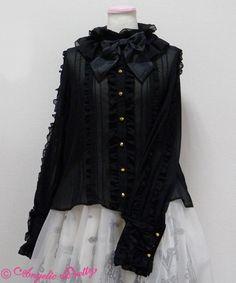 Masquerade Blouse Black