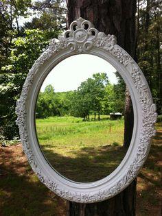 Vintage Syroco Ornate Mirror Hollywood by UniqueChicAndRustics, $90.00
