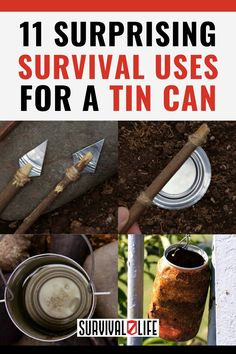 If you're in a situation and you happen to have a tin can with you, then you're in luck! That tin can might just be your ticket to survival. Survival Hacks, Survival Life, Survival Tools, Wilderness Survival, Camping Survival, Emergency Preparedness, Outdoor Shelters, Just Be You, Safety Tips