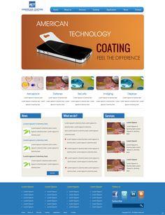 Coating Website Design