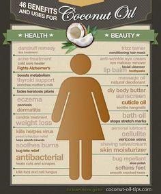 using coconut oil