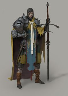 ArtStation - epic knight ^.^~~~~~, Roma Kupriyanov