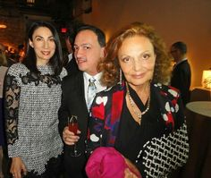 Designer Anthony Rubio had the dubious privelege to have met legendary Fashion Designer Diane Von Furstenburg and actress/model/ artist Ana Duong  at awards benefiit by New york's Whitney Museum.