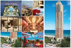 Mansions at Acqualina in Sunny Isles Beach. Do not miss out on these beautiful condos. The condominium tower offers extreme opulence in 46 stories set on the beach for 6.75 acres. The designers were hand picked. Contact us now! #RealEstate