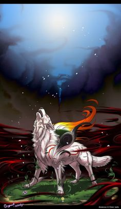 I don't like okami but you have to admit this is pretty cool.