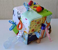 """Матрёшкин блог: Развивающие кубики в технике """"пэчворк"""" и детские с..."""