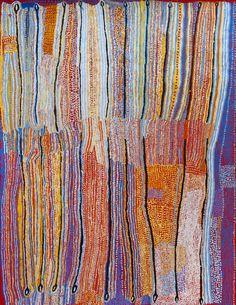 Ray Ken / Kulata Tjuta 152 x 199 cm
