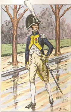 French; 11th Cuirassier Regt, Chef d'Escadron I Scherb, Grande Tenue de Ville, 1806-10