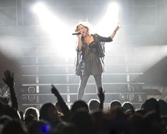 Although she is only 19, Demi Lovato proved at a concert July 12 in Salt Lake City that she is a good judge of her own talent, knowing how to perform and work a crowd into a frenzy. (Lennie Mahler | The Salt Lake Tribune)