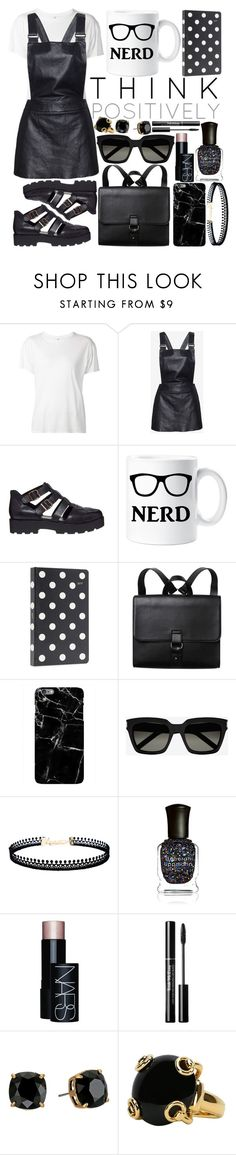 """Untitled #1166"" by sc-styles ❤ liked on Polyvore featuring R13, Love Leather, Vagabond, Kate Spade, Monki, Yves Saint Laurent, LULUS, Deborah Lippmann, NARS Cosmetics and Tory Burch"