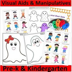 Halloween Games Children LOVE {for Music class & general classroom teachers}