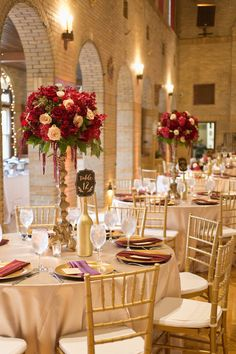 burgundy and champagne wedding flowers