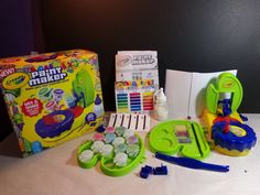 Crayola Paint Maker Mix and Shake Your Own Custom Colors   eBay