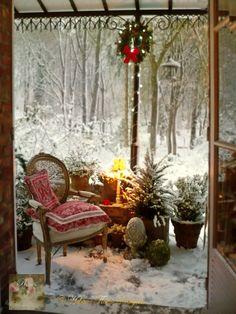 Let it snow - Photo © Hélène Flont‿ ◕✿