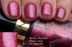 Berry Jeweled - A Pink Glitter
