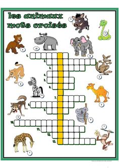 zoo lessons * zoo lessons - zoo lessons for kindergarten - zoo lessons preschool - zoo lessons free printables - zoo lessons for preschool - zoo lessons activities - zoo lessons for toddlers - zoo lessons kids Animal Facts For Kids, Fun Facts About Animals, Animal Fact File, French Teaching Resources, Teaching French, French Worksheets, French Language Lessons, Animal Worksheets, French Classroom