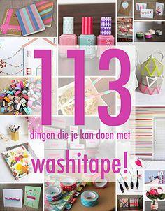 113 Dingen die je kan doen met washitape! Lekker veel washi tape inspiratie :-)