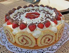 Backrezepte für Ihre Küche: Erdbeer - Schmand - Torte