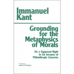 kant grounding - Google Search