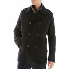 Levi's® Pea Coat with Removable Bib - jcpenney