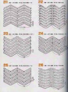 MES FAVORIS TRICOT-CROCHET: 40 points vagues au crochet