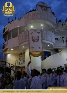 Jueves 14 de Agosto 2014 - Servicio Especial de Santa Cena en Hermosa Provincia.  #SantaConvocacion2014 #SantaCena201   #lldm #ccbusa #lldmusa