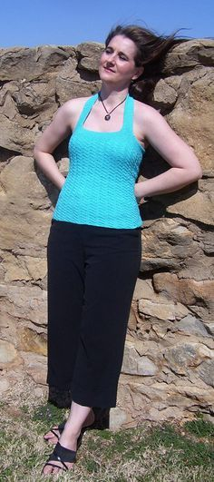 Easy+Summer+Knitting+Projects | Summer Knits - 5 Free Sleeveless Top Patterns to Knit for Summer |