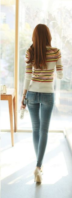 Jeans Fit, Jeans Style, Jeans Pants, Sexy Jeans, Denim Jeans, Outfit Jeans, Skinny Jeans, Girl Fashion, Womens Fashion