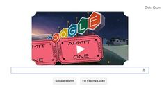Googles Doodle for today...  Celebrating the 79th Anniversary of the Drive-In Theatre...