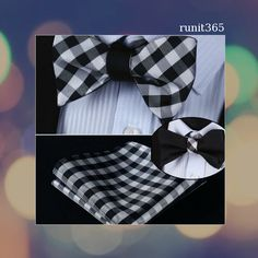 Fashion, Classic or Classy, we are please to offer the must of Elegance: our silk bow ties. Self knotted, our silk bow ties immediately provide a natural elegance. Men Ties, Men's Style, Must Haves, Bespoke, Squares, Sons, Mens Fashion, Check, Shopping