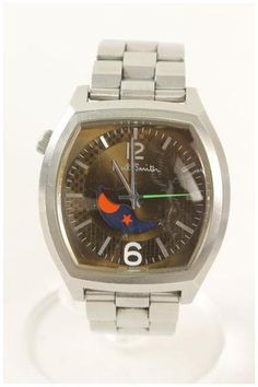 Paul Smith - Black Faced Moonphase Watch