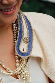 Pearls & Jacket via Chanel