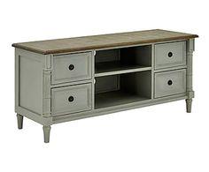 Mueble para TV de madera Grace - gris y marrón