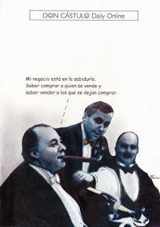 Don Cástulo: Cena de negocios