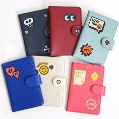 Boy Passport Case Cute Carton Panda Face Animal Stylish Pu Leather Travel Accessories Boys Passport Case For Women Men