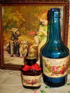 Old bottles ,new labels-craft