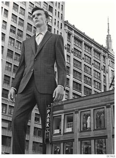 Jeremy Matos + Richard Detwiler are Larger Than Life for Details Fall 2014 Suiting Fashion Editorial image Details Fall 2014 Suiting 010