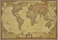 mapa mundi grande foto alta definicao nat geo pronta entrega