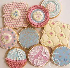 Cameo Inspired cookies