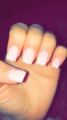 nude/ light pink Nexgen nails...so pretty!!